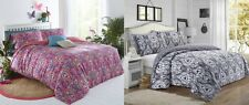 Trivia Paisley Floral Modern Duvet Cover Bedding Set All Sizes