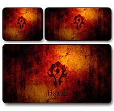 WOW World of Warcraft Horde Game Mouse Pad Profession PC Large Mats Muti size C