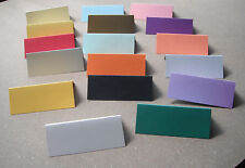 50 'Blank' Table Name Place Cards, Many Colours - Christmas, Partys, Wedding