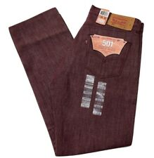 Levis Mens 501 Straight Button Fly Original Shrink To Fit Jeans Marbury 501-2130