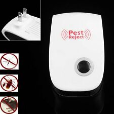 Electronic Ultrasonic Anti Mosquito Insect Mouse Pest Repellent Repeller LY