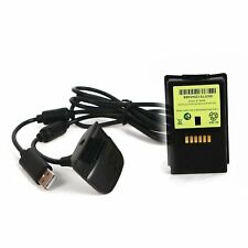 New Ni MH 4800mAH Rechargeable battery pack For XBOX 360 & chargeable cabLY