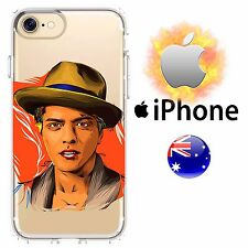 iPhone Case Cover Silicone Bruno Mars Hip Hop Jazz Chris Brown Rap FreshPrintAU