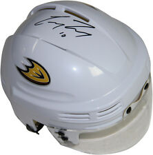 Steiner Corey Perry Signed White Anaheim Ducks Logo Mini Helmet