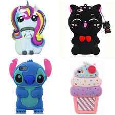 Hot Cute Unicorn 3D Cartoon Soft Silicon Case Cover Back Skin For Various Phones