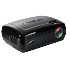 UHAPPY LED Video Projector 1080P LED HD Mini Projector 1280*768 Home Projector