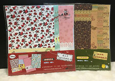 8 Sheet Scrapbooking Paper Minnie Mouse Winnie The Pooh Diary Decoration Disney