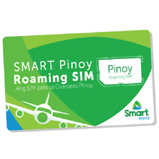 SMART Pinoy Prepaid ROAMING OFW SIM Card Philippines Regular Micro w/ Load