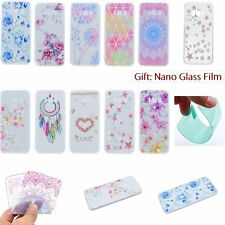 ULTRA THIN Fashion Floral SOFT TPU Rubber Back Case Cover For Samsung Galaxy S