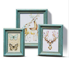 """""""Nature Chat"""" Classic Wood Photo Frame Home Decor Vintage Family Picture Frame"""