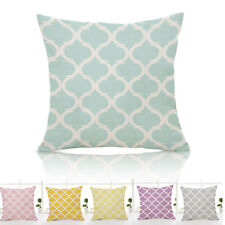 New Geometric Floral Pattern Throw Pillow Cover Car Cushion Cover Case Decor