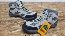 New! Womens Denali Clearwater Suede Natural gray Hiking Boots Size 6 I42