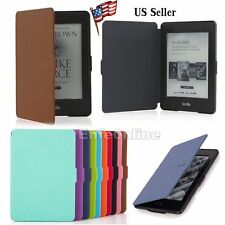 Wake/Sleep Magnetic Smart Leather Case Cover For Amazon Kindle/ Paperwhite 1 2 3