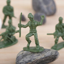 100pcs/Pack Military Plastic Toy Soldiers Army Men Figures 12 Poses Gift XP