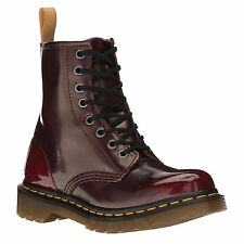 Dr.Martens Vegan 1460 Cherry Womens Ankle Boots Vegan Leather