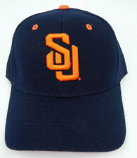 SYRACUSE THE 'CUSE ORANGE NAVY NCAA VINTAGE FITTED SIZED ZEPHYR DH CAP HAT NWT!