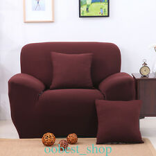 1-3 Seater Protector Couch Cover Sofa Cover Slipcover Full cover Skidproof Cloth
