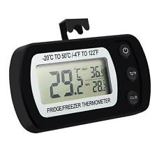 Oria Digital Refrigerator Thermometer, Waterproof Freezer Thermometer With...