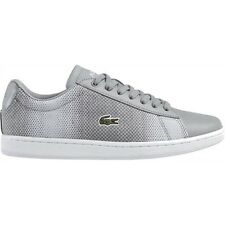 Lacoste Women Athletic Shoes Carnaby Evo 117 2 Spw Fashion Sneakers Grey
