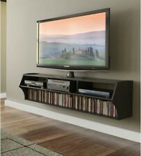 Floating Entertainment Center Media Console TV Stand Unit Living Room Furniture
