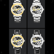 Stainless Steel Dial Waterproof Watches Mens Automatic Mechanical Wristwatch