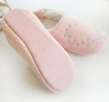 Women New Embroidered Pattern Pink Color Indoor Slip Slippers