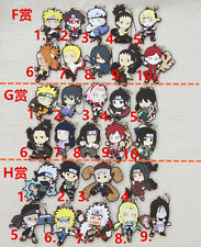T318 Hot Japan anime Naruto rubber Keychain Key Ring Rare cosplay