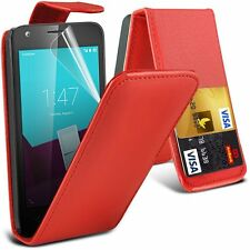 High Quality Compact Premium Leather PU Flip Case Cover for Samsung Models
