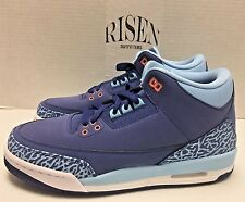 Nike Air Jordan 3 Retro GG 'Purple Dust' Pink 441140-506 GS Youth Kid's NEW DS