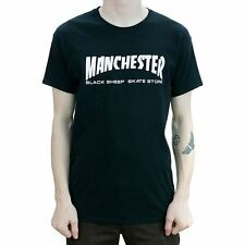Black Sheep Manchester T-Shirt Black Skate Tee BNWT New Free Delivery