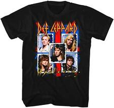 Hysteria Def Leppard English Rock Band Heavy Metal Hard Rock Black Adult T-Shirt