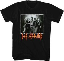 Group Photo Def Leppard English Rock Band Heavy Metal Hard Rock Adult T-Shirt