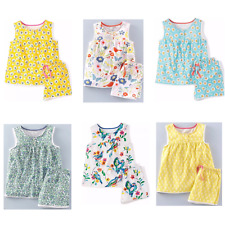 Girls Gorgeous Ex Mini Boden Jersey Pyjamas Ages 6 -12 Mnths -12 Yrs