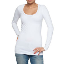 2239 Only Live Love Long Ladies long sleeve shirt shirts size XS - XL White