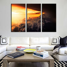 Clouds In The Air Landscape Canvas Print Poster Wall Art Home Decor Framed Art