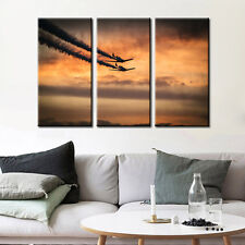 Vintage Airplane Fine Art Canvas Print Poster Wall Art Living Room Decor Artwork
