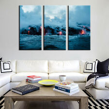 Undersea Volcano Natural Photograph Canvas Print Poster Wall Art Decor Artwork