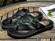 Summer Mens thongs flip flop beach sandals flat slipper fisherman shoes