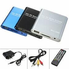 Mini HD 1080P Multi Media Player SD USB for HDMI/AV/MMC MKV AVI Movies US Plug