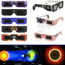 Solar Eclipse  Glasses Galaxy 2017 Edition CE and ISO Standard (2 Packs)