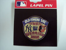 2014 NEW YORK YANKEES OLD TIMERS DAY PIN VS ORIOLES (YANKEE STADIUM) - 6/22/14