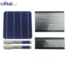 156MM Monocrystalline Solar Cells 6x6 With Bus Tabbing Wire For DIY Solar Panel
