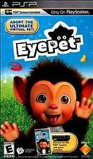 EyePet (Sony PlayStation Portable) PSP new sealed video game PSP camera required