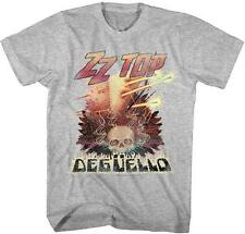 DEGUELLO ZZ Top Classic Rock Band Licensed Concert TOUR ADULT BLACK T-Shirt