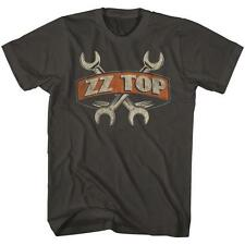 MECHANIC WRENCHES ZZ Top Classic Rock Band Licensed Concert TOUR ADULT T-Shirt