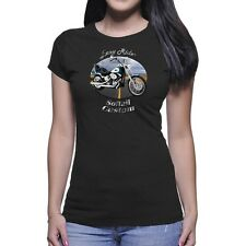 Harley Davidson Softail Custom Easy Rider Women`s Dark T-Shirt