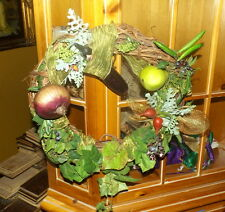 Thanksgiving and Fall Country Wreaths