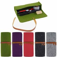Eyeglass Pouch Felt Glasses Case Sleeve Cosmetic Bag Soft Pencil Candy Color