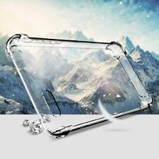FLOVEME Crystal Clear Transparent Shockproof Silicone Case For iPhone 7 6 6s Plu