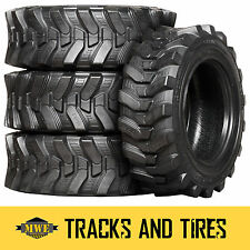 10-16.5 (10x16.5) Camso SKS 532 10-Ply Skid Steer Tires: Pick Your Rim Color